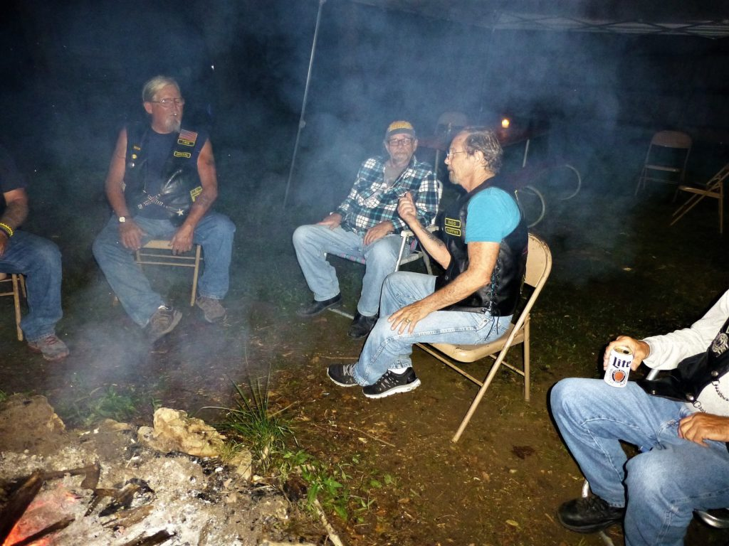 So many stories sit'n around that campfire