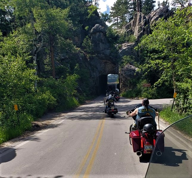 NR 2018..Riding the Black Hills, with Brothers