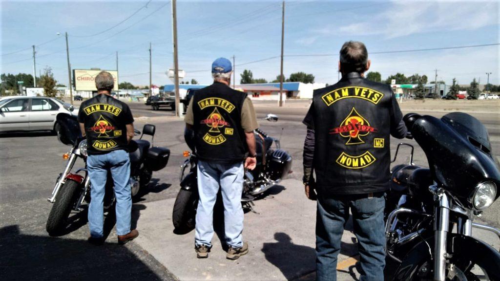 Brothers show'n Pride. Northwest Nomads