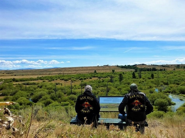 Sit'n in Silence, Big Hole Battlefield, MT